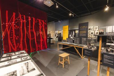 Salle d'exposition Visages et paysages